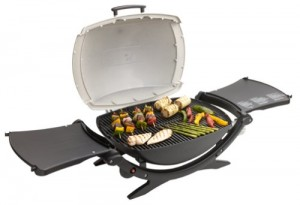 WEBER Q200 WITH VEGTABLES