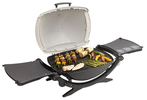 Weber Q® 220: This grill is great for tailgating as it combines functionality and portability