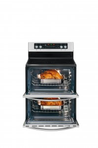 Frigidaire Gallery Double Oven Electric Range FGEF306TMF