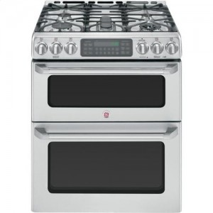 Ge Cafe Double Oven Gas Range CGS990SETSS