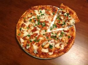 BLT White Pizza -Super Bowl Pizza