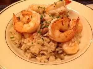 Shrimp & Mushroom Risotto | Mrs. G Appliance Chef