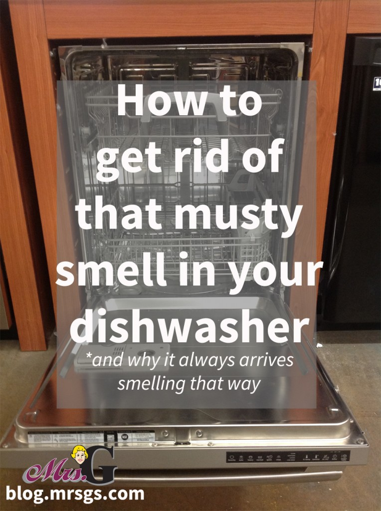 How to get rid of that musty smell in your dishwasher   Mrs. G TV, Appliances & Sleep Center