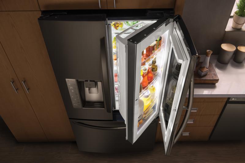 Lg Instaview Door In Door Refrigerator Is Now On Display