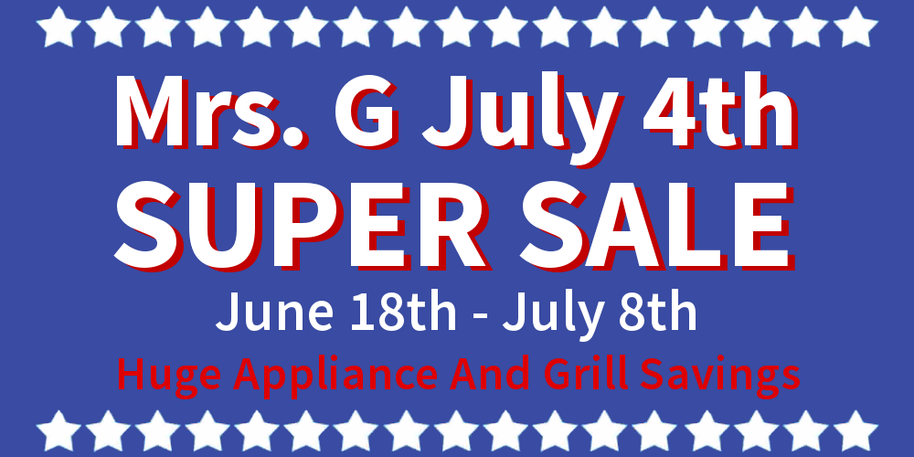 July 4th Sale