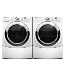 Magtag Front Load Washer MHWE450WW with matching Dryer
